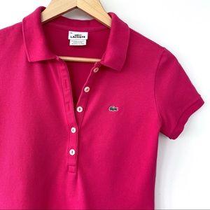 Lacoste slim fit stretch cotton t-shirt